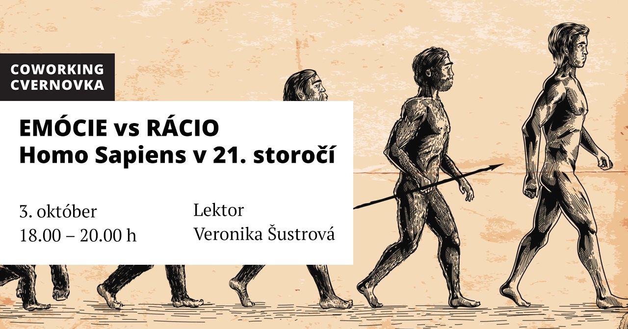 Prednáška: Emócie vs Rácio, Homo Sapiens