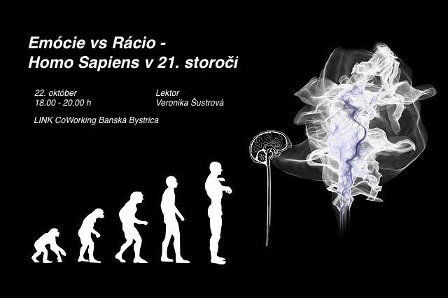 Prednáška Banská Bystrica: Emócie vs Rácio